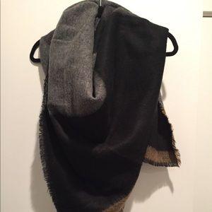 Zara - Colorblock Giant scarf